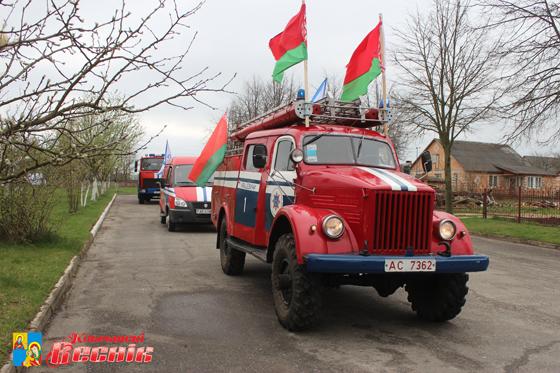Участники автопробега «Молодежь за безопасность и спорт» проедут через Кобрин.