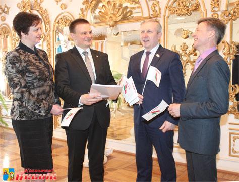Демидович на конференции Белой Руси