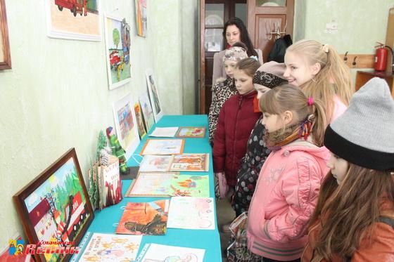 В Кобрине подведены итоги районного смотра-конкурса детского творчества «Спасатели глазами детей»