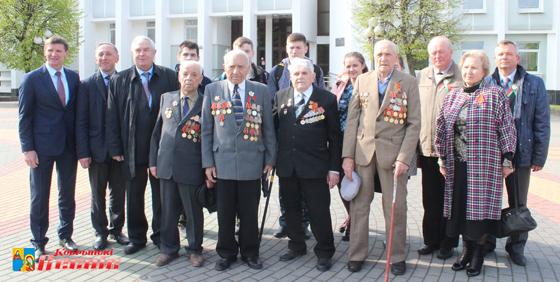 Автопробег посвященный 72-й годовщине Великой Победы недавно прошел на Кобринщине