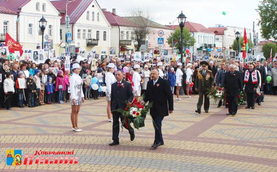 День Победы: Над Кобрином звучал праздничный май