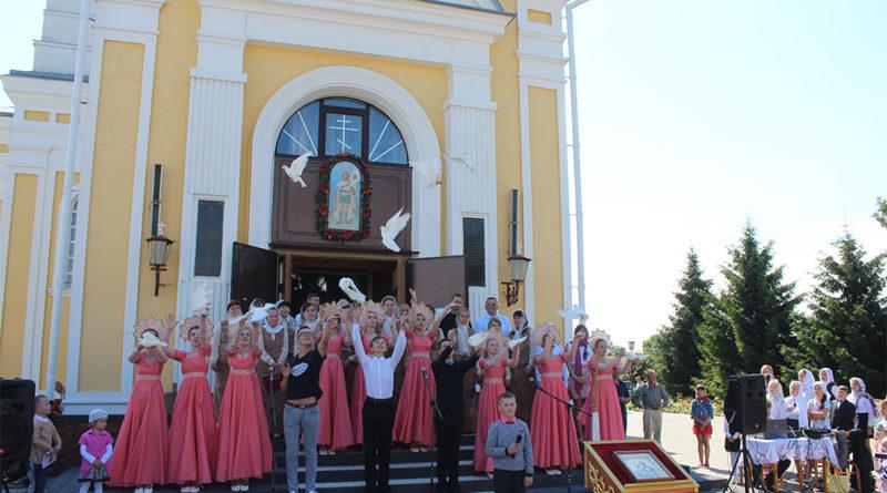 На Кобрыншчыне адзначылі дзень святых благаверных князёў Пятра і Фяўроніі.