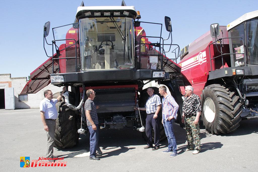 В СПК «Восходящая заря» работают на высокий урожай