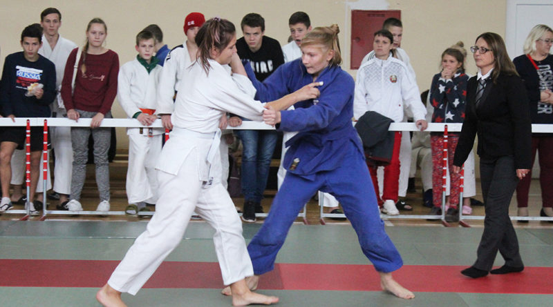 На базе КСДЮШОР Кобринского района прошёл международный турнир по дзюдо «Наши истоки»