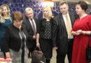 Торжественный вечер, посвященный 100-летию системы Министерства труда и социальной защиты Республики Беларусь, прошел в Кобринском Дворце культуры.
