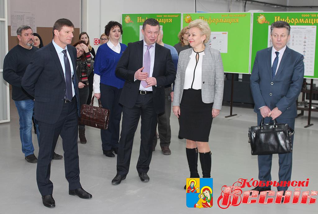 С рабочим визитом Кобрин посетила министр труда и социальной защиты Республики Беларусь Ирина Костевич