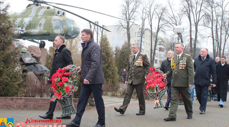 Торжественные мероприятия, посвящённые 30-летию со дня вывода советских войск из Афганистана, прошли на Кобринщине