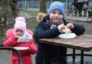 В Кобрине проводили зиму