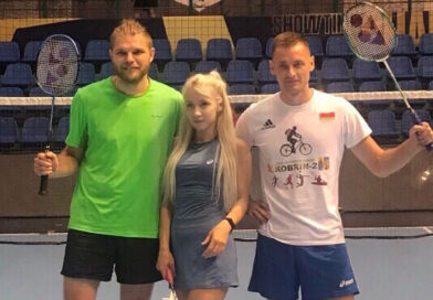 Кобринчанин Павел Адамович победил на международном турнире по бадминтону