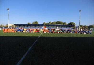 Вчера завершились республиканские соревнования по футболу среди детей и подростков «Кожаный мяч» на призы Президентского спортивного клуба